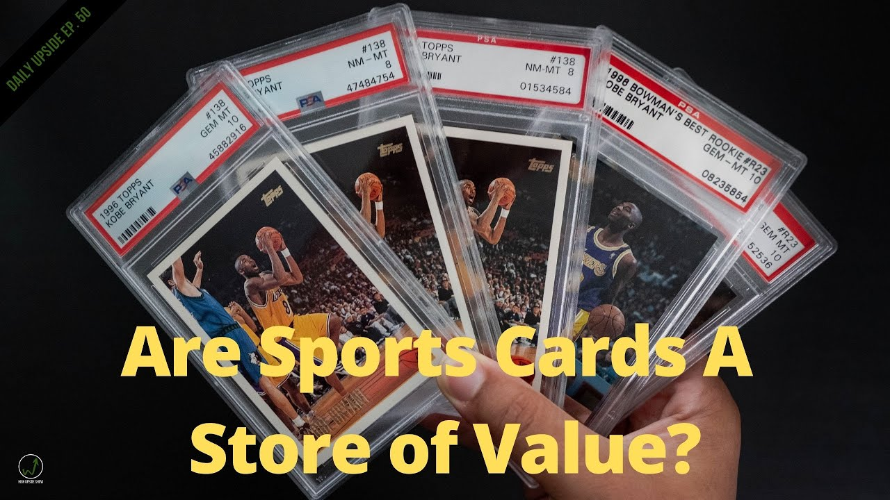 Sports Cards I M Investing In Store Of Value Generation Nba Top Shot Daily Upside 50 Youtube