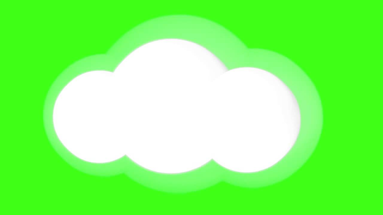 comic cloud cartoon weather free green screen animations youtube