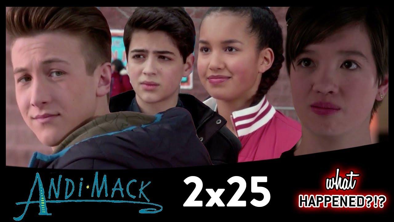Andi Mack Season 2 Finale Cliffhangers The Proposal Tj Looks Back 2x25 Recap Youtube