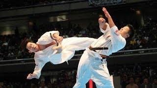 THE 45TH ALL JAPAN OPEN KARATE TOURNAMENT men 4th round Yuto Eguchi...
