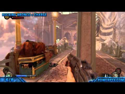 Bioshock Infinite - All Vigor Combinations Combination Shock Trophy