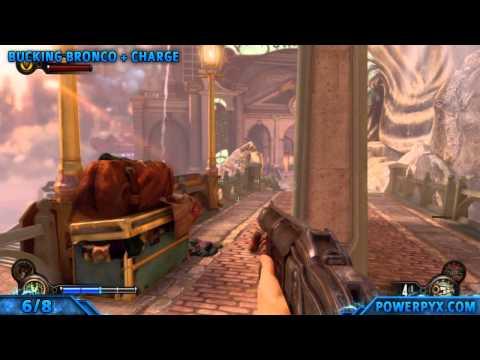 Bioshock Infinite - All Vigor Combinations Combination Shock Trophy