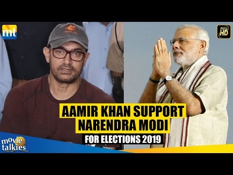 AB KI BAAR MODI SARKAR I Aamir Khan Supports Narendra Modi For Elections 2019