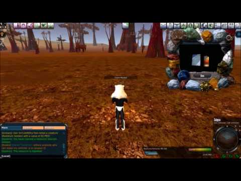 Entropia Universe: 50 ped Calyps Mining Run (RCEs, Mining tips, and PvP)