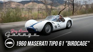 """homepage tile video photo for 1960 Maserati Tipo 61 """"Birdcage"""" - Jay Leno's Garage"""