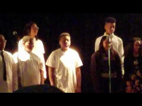 Talent show at Andrew Jackson academy