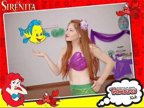 Show Sirenita - Shows Infantiles - Travesuras Kids