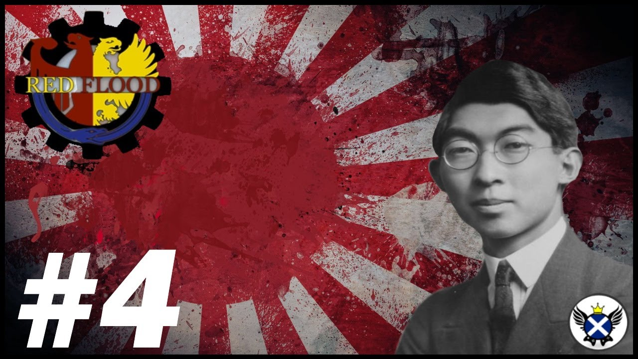 Island Hoping Our Way Around the Pacific!   HOI4 Red Flood Japan #4