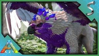 MAX LEVEL CRYSTAL GRIFFIN TAMING! - Ark: Jurassic Park [E59]