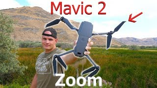 Mavic 2 ZOOM - Exploring Toxic Ruins with a NEW drone!
