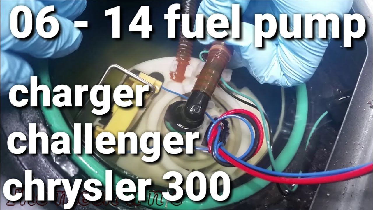 06 14 Charger Fuel Pump Youtube Dodge Electric Wiring Diagram