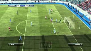 FIFA 12 demo gameplay Manchester City v Arsenal