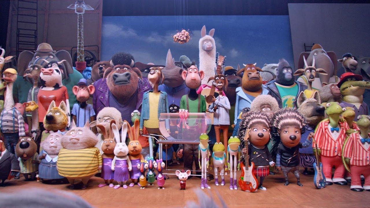 Download Sing Full Movie in English Animation Movies Kids New Disney Cartoon 2019