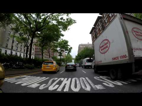 ⁴ᴷ 4X Timelapse Broadway from the Bronx to Staten Island Ferry Terminal, Manhattan by Bicycle