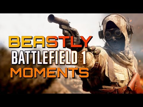 Battlefield 1: Infiltrator Ownage! Beastly Multiplayer Moments! (PS4 PRO/Xbox One X Gameplay)