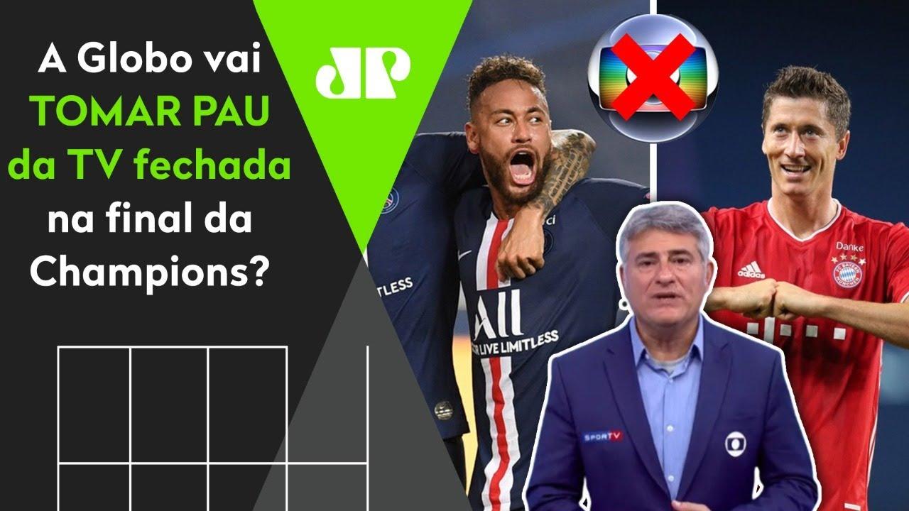PSG x BAYERN: a Rede Globo vai TOMAR PAU da TV FECHADA? - YouTube