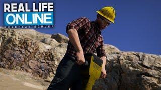 Wir werden BERGARBEITER! 😱 - GTA 5 Real Life Online