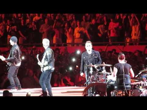 U2 -  Sunday Bloody Sunday - Gillette Stadium, Boston MA, June 25,  2017