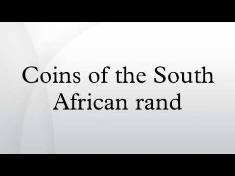 Coins of the South African rand