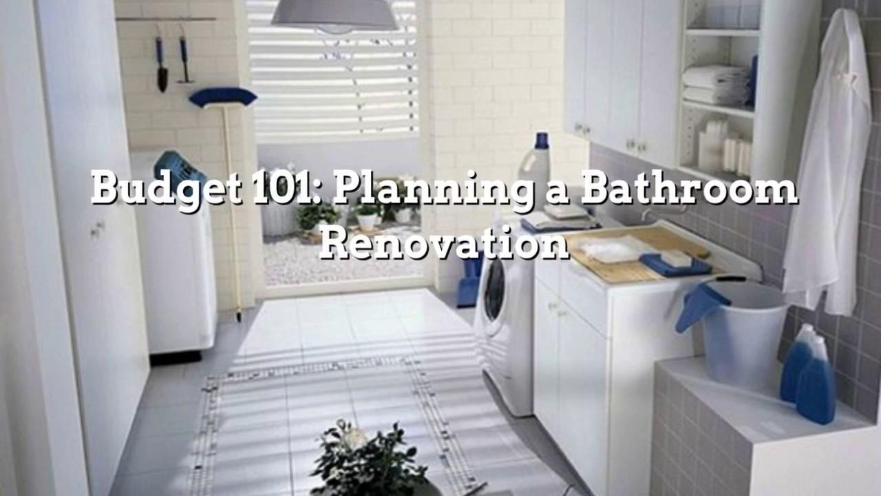 Cheap bathroom renovations melbourne - Bathroom Renovations Melbourne Budget 101 Planning A Bathroom Renovation
