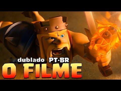 CLASH OF CLANS - O FILME COMPLETO (DUBLADO)