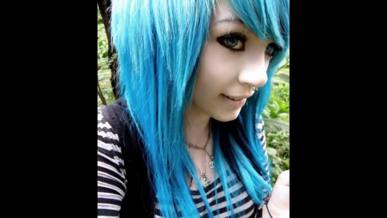 Scene hair color ideas youtube for Scene ideas