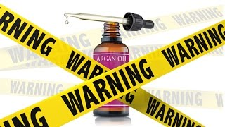 Argan Oil WARNING: 5 things to consider *before* buying a bottle