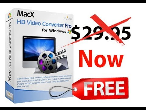 (100% Free) MacX HD Video Converter Pro For Windows/Mac-Giveaway ᴴᴰ