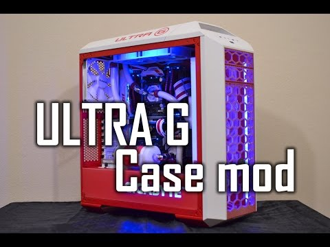 GIGABYTE ULTRA G - 5000€ - Case mod - Custom Gaming PC [EN]