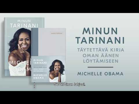 Michelle Obama: Minun tarinani - Täytettävä kirja oman äänen löytämiseen Trailer 15 sek