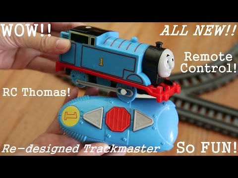 The All New Re-designed Remote Control Trackmaster Thomas the Tank Engine