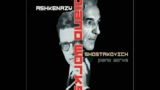 Ashkenazy plays Shostakovich Aphorisms, Op 13 part 1