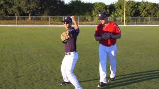 Corrective Video: OUTFIELD | EXCHANGE & FOOTWORK TO THROW
