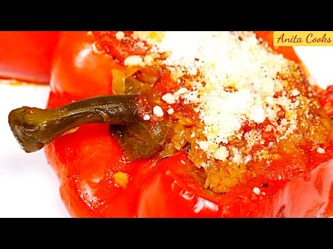 recipe: stove top stuffed peppers in tomato sauce [32]