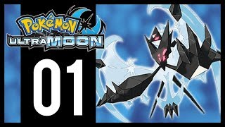 Pokemon Ultra Moon Gameplay Walkthrough - Part 1 - Another Dimension (3DS)