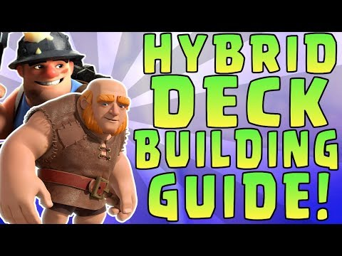BEST DECKS in Clash Royale || HYBRID Deck Building Guide ||
