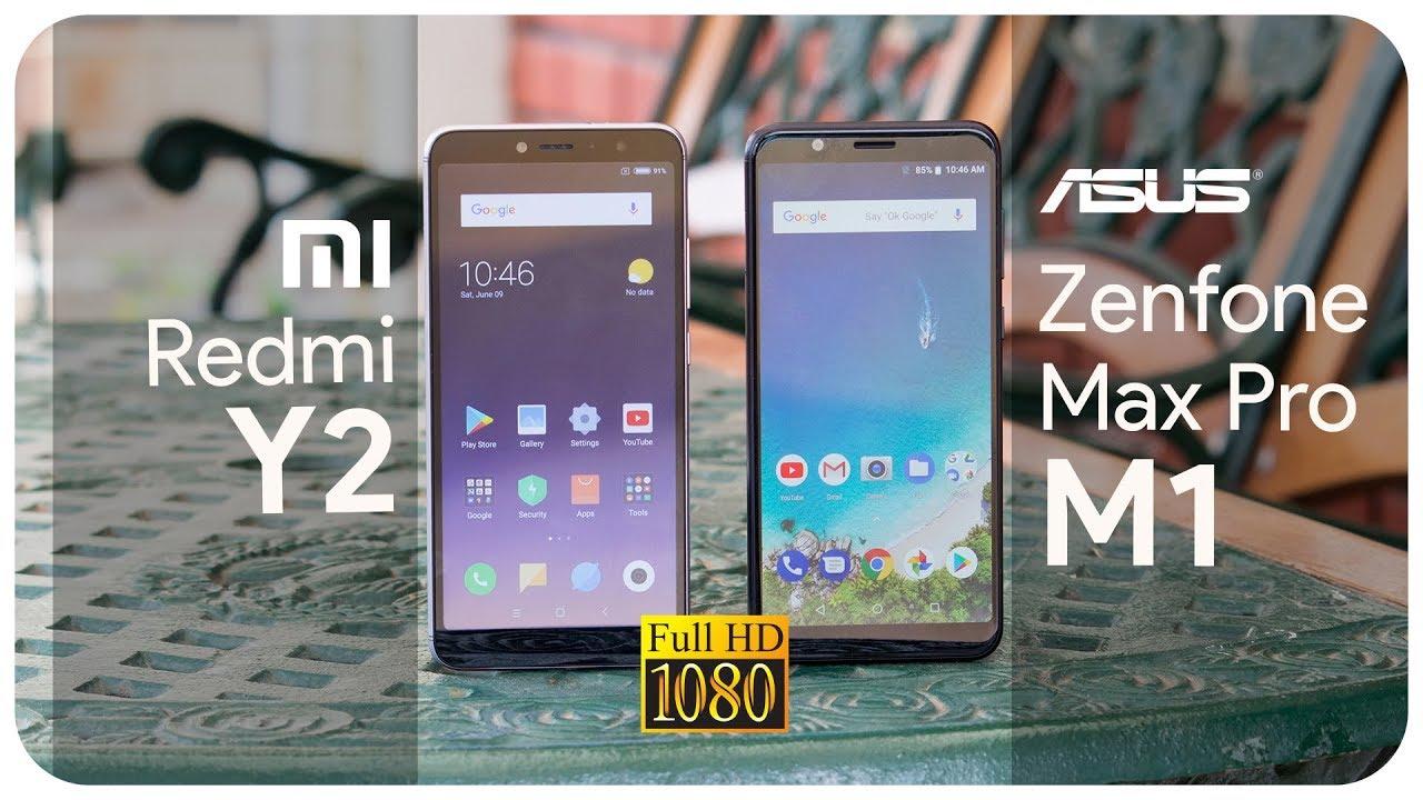 Redmi Y2 & Asus Zenfone Max Pro M1 comparison