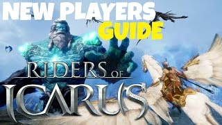 Riders of Icarus: New Players Guide (Tips & Information)