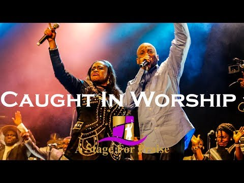 Sinach & Donnie McClurkin Caught In Worship | I Know Who I Am | Festival of Praise 2017