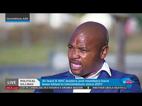 uMzimkhulu ANC Secretary on KZN political violence
