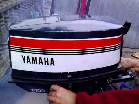Yamaha 25 hp outboard motor 1989r 2 stroke dwusuw youtube for Yamaha 25hp 2 stroke outboard