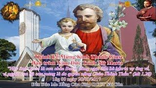 Thánh lễ Kính Thánh Giuse, bạn Đức Trinh nữ Maria - Đền Đức Mẹ Hằng Cứu Giúp_ www.dcctvn.org