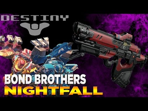 DESTINY: BOND BROTHERS NIGHTFALL EP2 (DESTINY: TAKEN KING UNIQUE ITEMS)