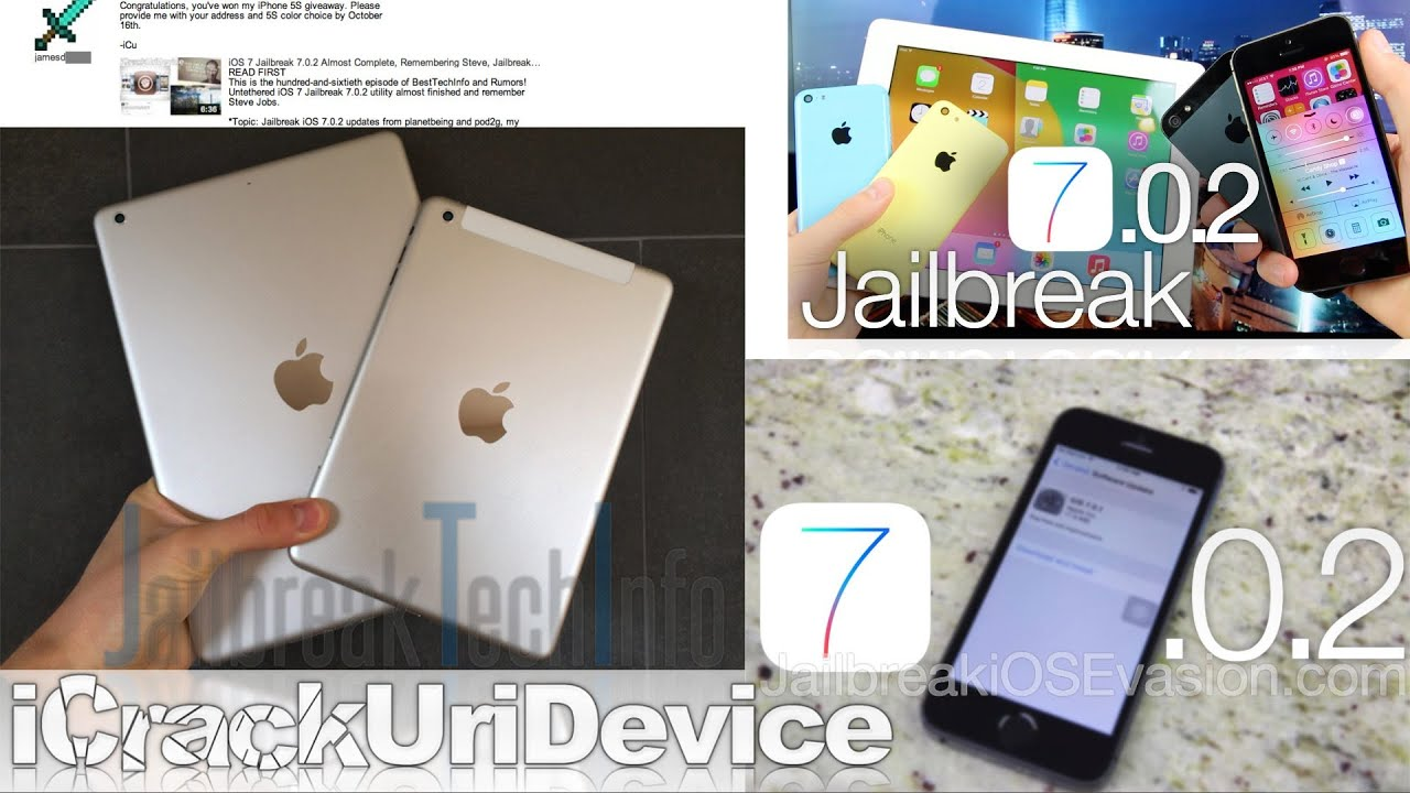 iPad 5, iOS 7 Jailbreak 7 0 2 Details, iPad Mini 2 Release Date, 5th Gen  iPad & More