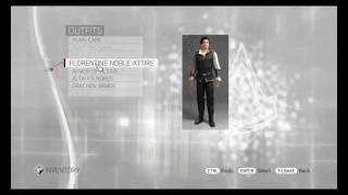 Assassins creed Brotherhood: Outfits with Tutorial (Read Desc)