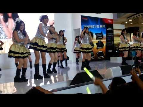 JKT48 Ponytail to shushu Honda event melody focus