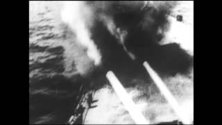 Naval bombardment - CBC D-Day Live