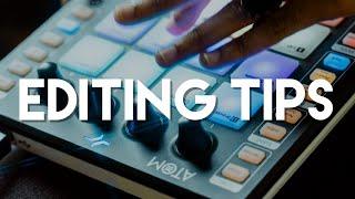 PreSonus ATOM Pad Controller: Editing tips