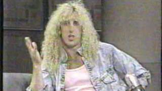 Dee Snider on Letterman, 8/18/87