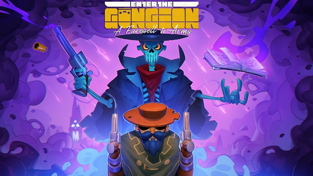Enter The Gungeon A Farewell To Arms Launch Trailer Youtube